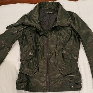 Affliction vegan leather jacket